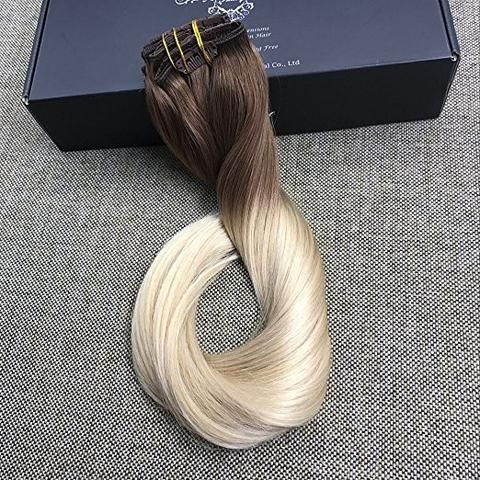 18 best full shine hair extension images on pinterest the star full shine official shopping site clip in balayage human hair extensions 6b pmusecretfo Gallery