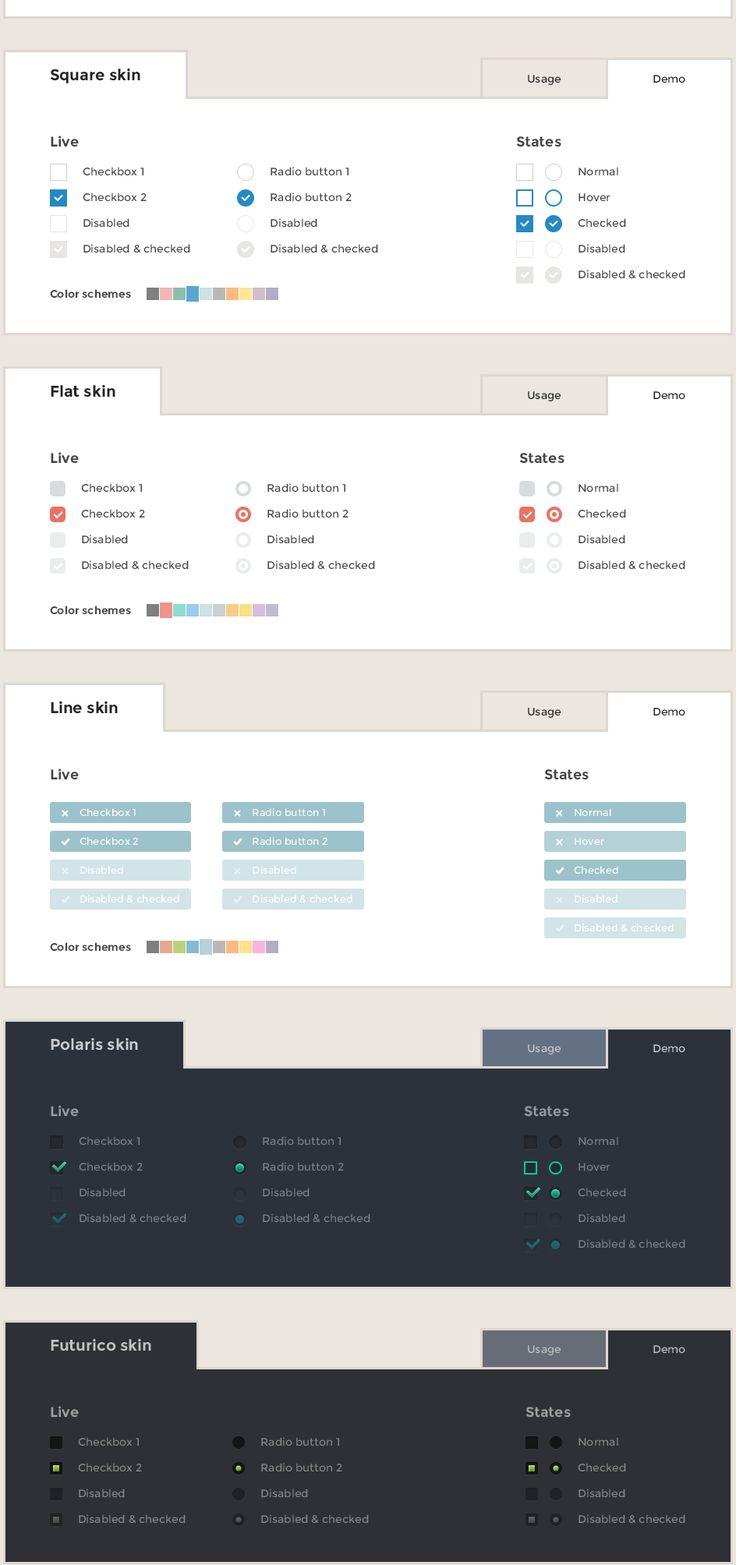 Form design ideas