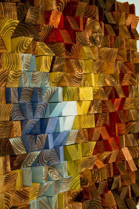 Bois Art mur Sculpture murale Sculpture par ArtGlamourSligo sur Etsy