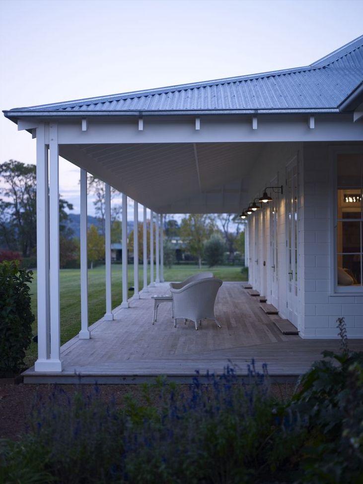 An Australian Countryhouse verandah