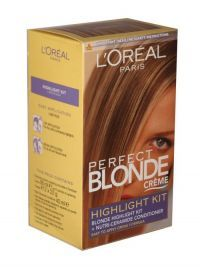 £5.99 - Loreal Paris Perfect Blonde Creme Highlight Kit  Blonde highlight kit and nutri-ceramide condition - easy to apply creme formula.