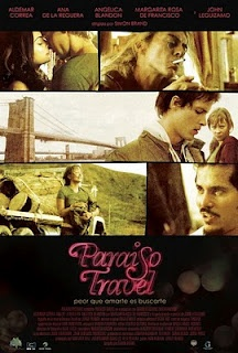 Find more movies like Paraiso Travel to watch, Latest Paraiso Travel Trailer, Love drives two young lovers from Medellin, Colombia to seek fortune in New York City, only to find a harsh reality that will put to test their true love for one another. Usa Travel Guide, Travel Usa, Travel Tips, Jorge Franco, Movie Synopsis, Love Drive, Audio Latino, See Movie, Las Vegas Trip