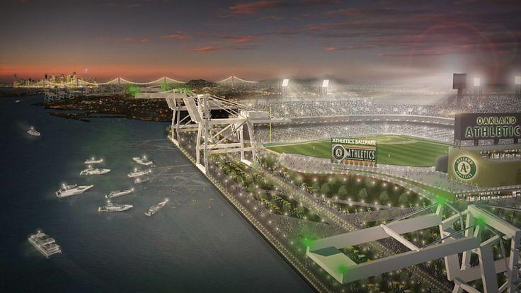 New Oakland A's Ballpark at Howard Terminal
