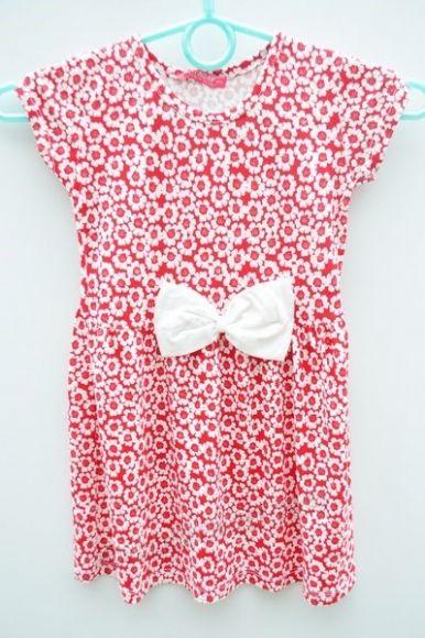 Sukienka dziewczęca ONL0143  _D7 (104-140)
