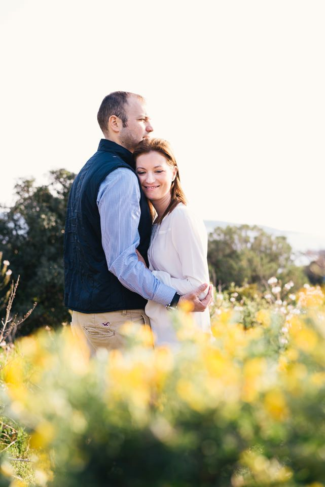 Engagement session in Vouliagmeni
