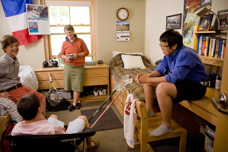 A dorm room at Eaglebrook School Dorm room, Dorm, Room