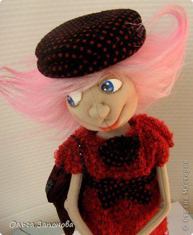 Куклы Шитьё Тётенька по мотивам Джилл Маас Ткань фото 6