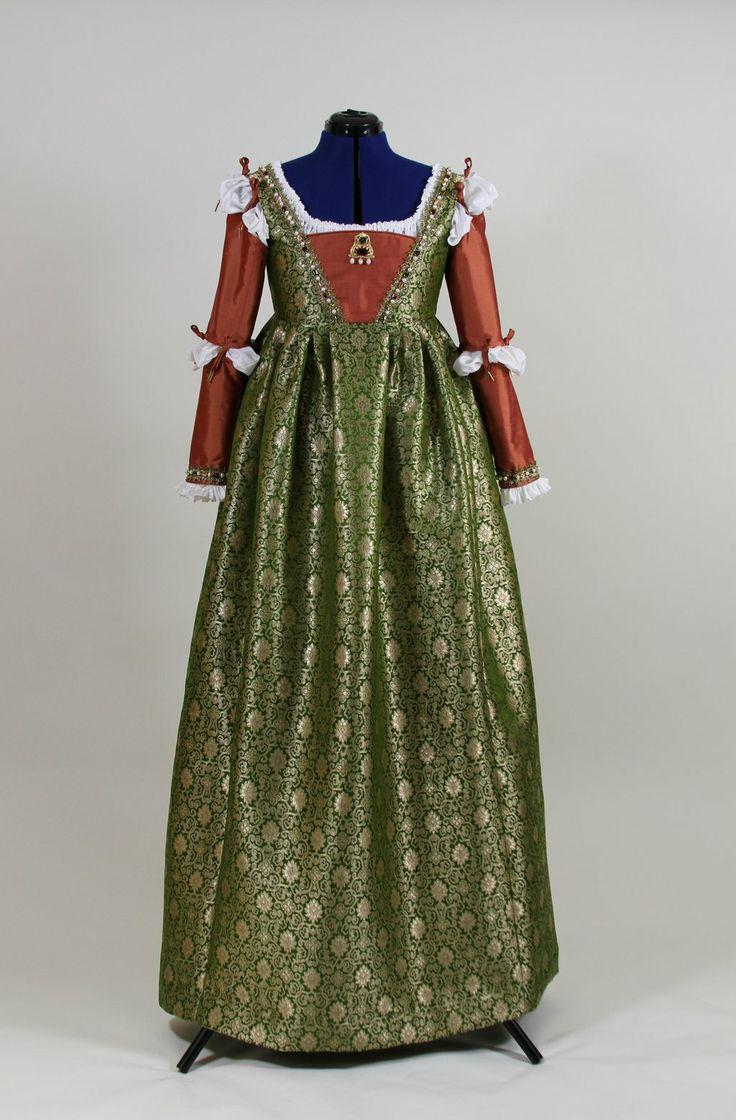 Borgia gown by DecosaDesign.deviantart.com on @deviantART
