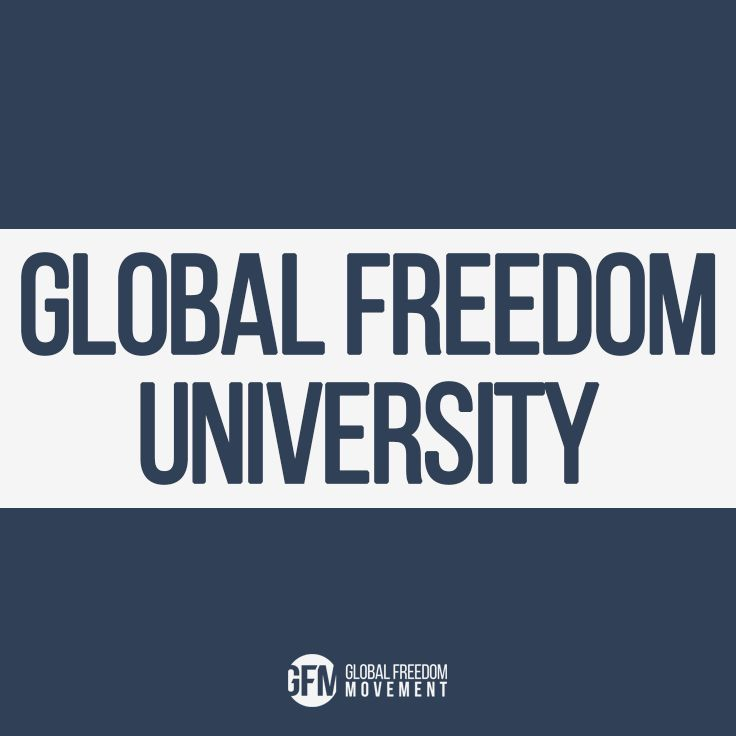 """Global Freedom University is a real solution to the information overload, propagation of false narratives, and lack of direction that plagues the """"truth movement"""" and the organic awakening of humanity. We understand we are not just """"fighting something"""" – we are consciously evolving beyond it and creating something new."""