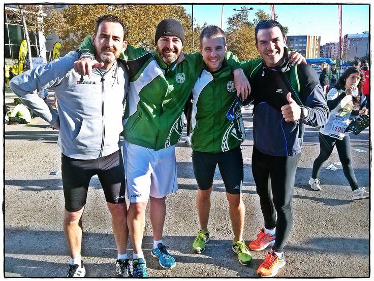 El Servicio de Actividad Física y Deportiva - UCV dentro de sus programas deportivos, participa en las carreras populares de #Valencia. #deporteUCV #runningUCV #SAFD