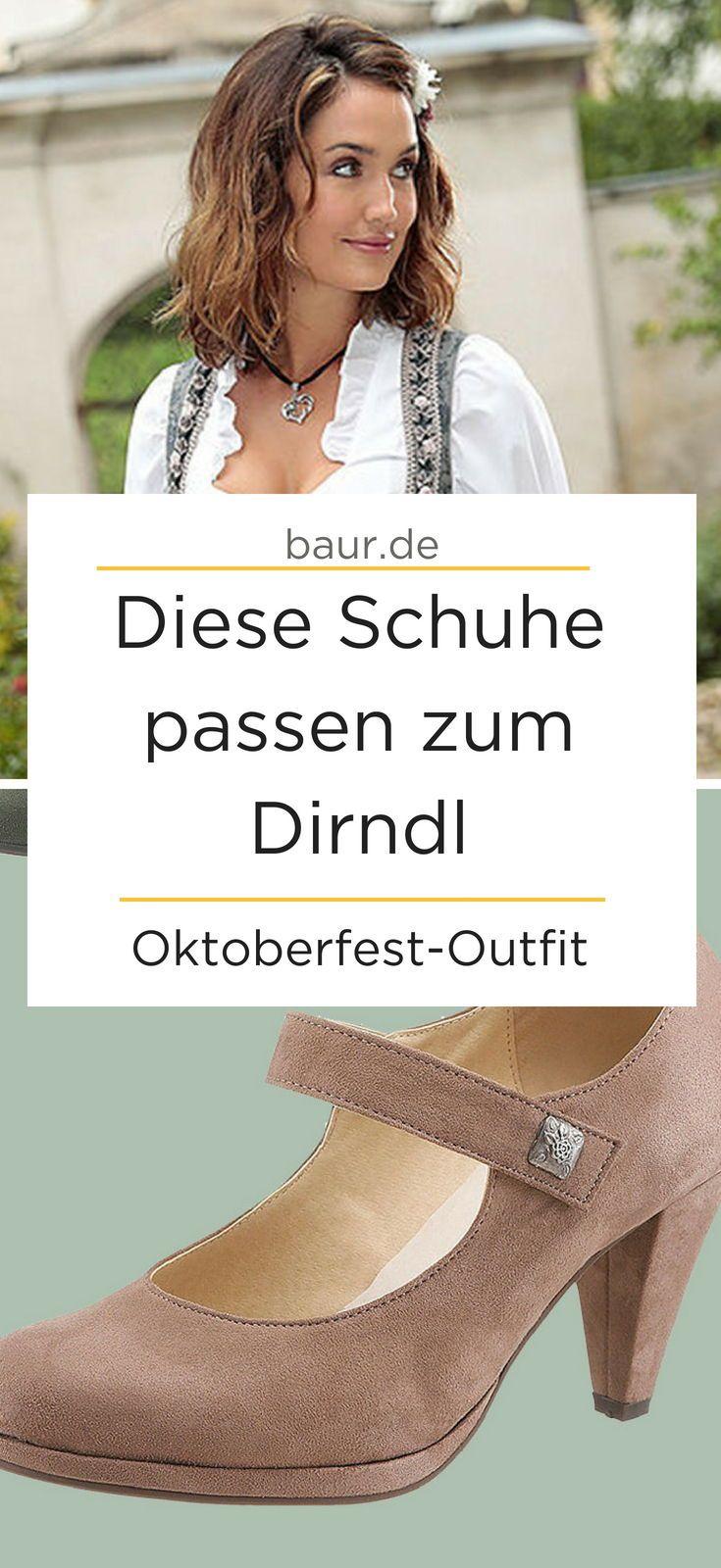 6e5d245278 Schuhe zum Dirndl – sieben Tipps fürs Oktoberfest Welche Schuhe zum Dirndl  passen? Die fünfte