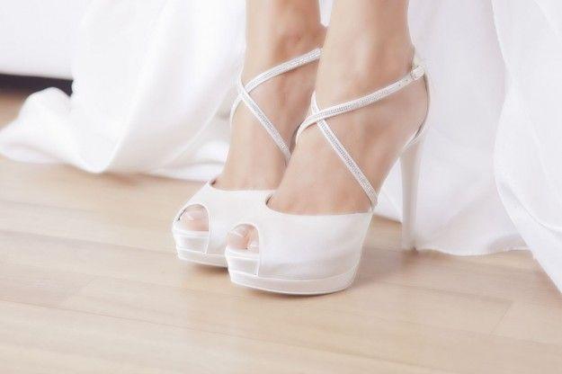 Scarpe da sposa 2014