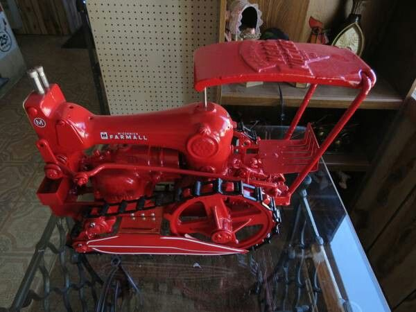 Farm all sewing tractor