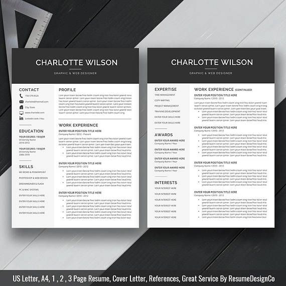 57 best Resumes images on Pinterest Resume templates, Resume - fashion resume template