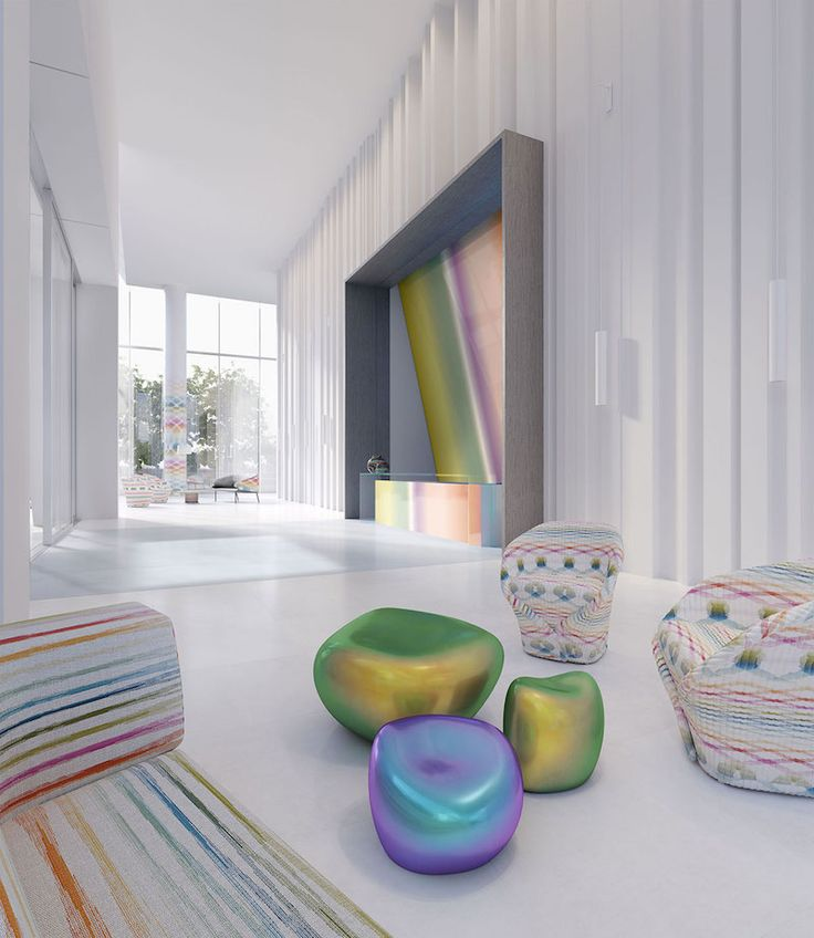 Using Bold Colors to Bring Life into Your Home - Mansion Global