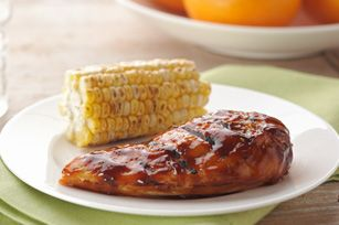 Citrus-Barbecued Chicken Breasts