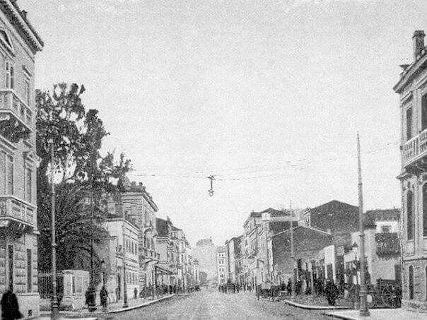 Οδος Πατησιων 1916