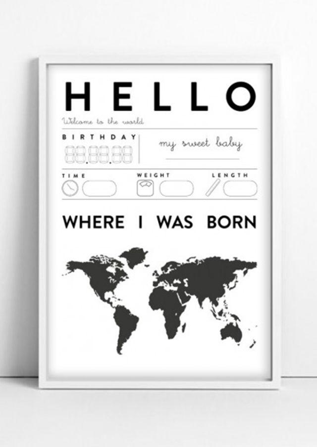 Babykamer zwart wit - Inspiratie voor zwart wit kinderkamers | MiniMe.nl