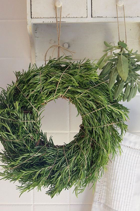 Rosemary Wreath: