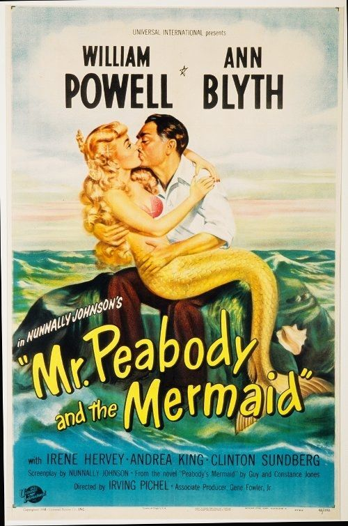 """Mr. Peabody and the Mermaid (1948) 