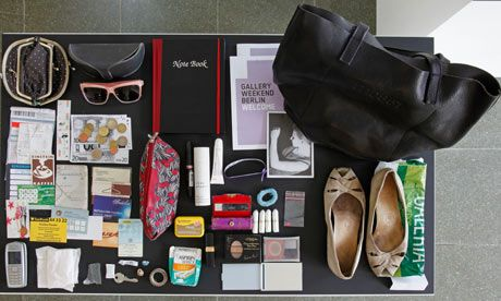 Hans-Peter Feldmann at Serpentine Gallery. What would the contents of your handbag look like?