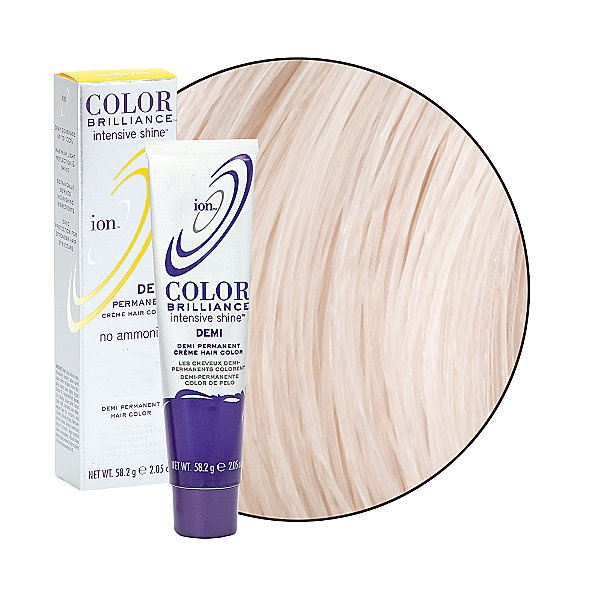Intensive Shine 9na Very Light Ash Blonde Demi Permanent Creme Hair Color In 2018 Colorful Pinterest And