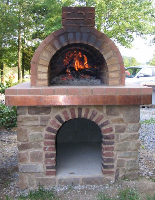 Coldsmith Wood Fired Brick Pizza Oven In Pennsylvania In