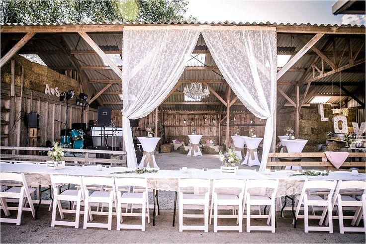 Locaties voor een rustieke bruiloft | oude schuren