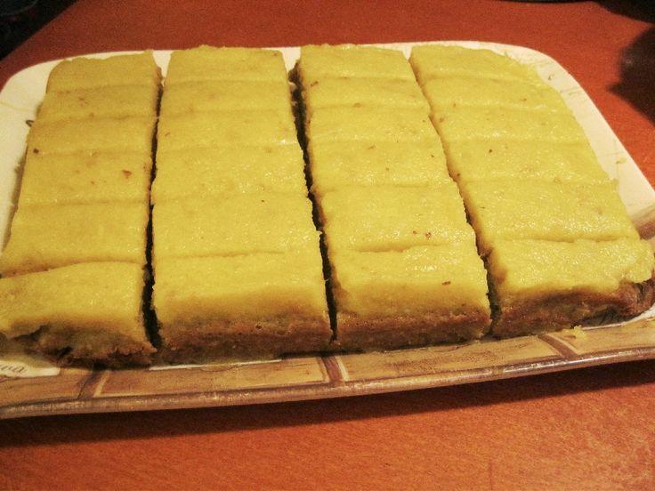 Ananászos citromkockák - paleo, AIP