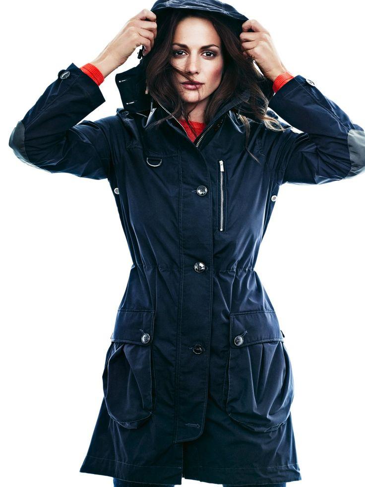 Brera #Parka #navy #fashion #women #autumn #winter.  www.snoot.se