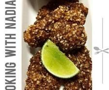 Paleo Crispy Chicken Mix by Thermomix with Nadia