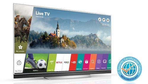 LG's webOS smart TV gets highest security level
