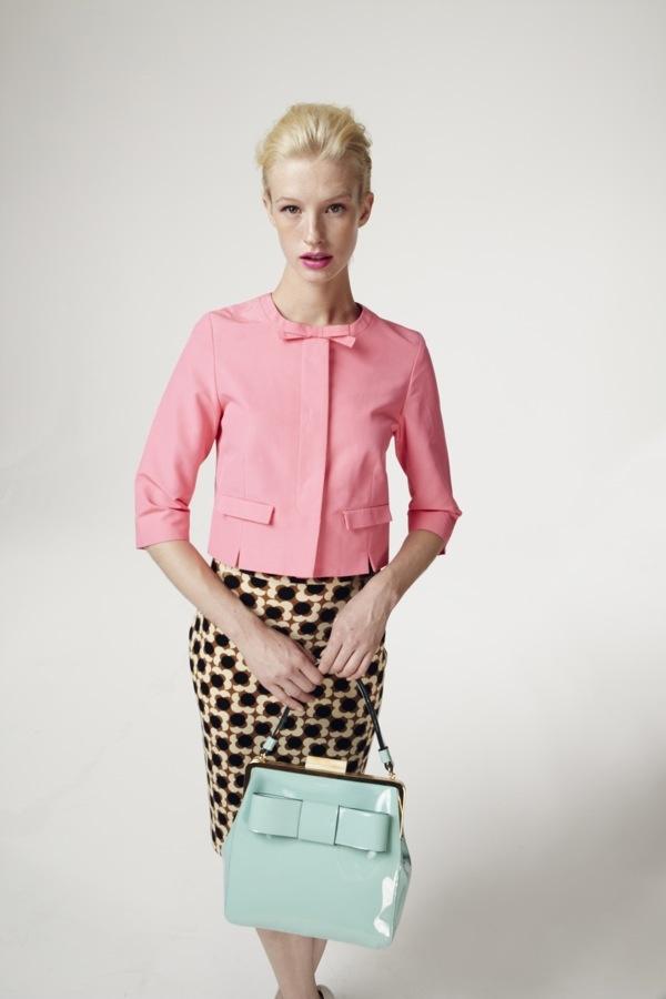 Orla Kiely Spring 2013 via Fashionista.