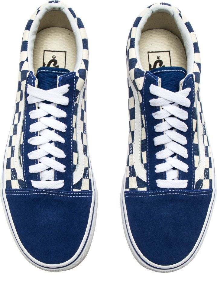 1bf5066012 New Vans Old Skool Checker Primary Checkerboard Blue White VN0A38G1P0U  4.5-13 700053803947
