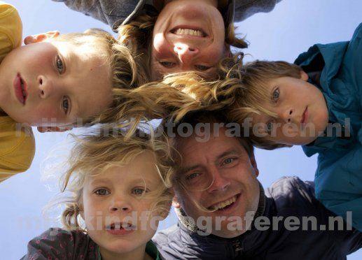 Familieportret, laag standpunt