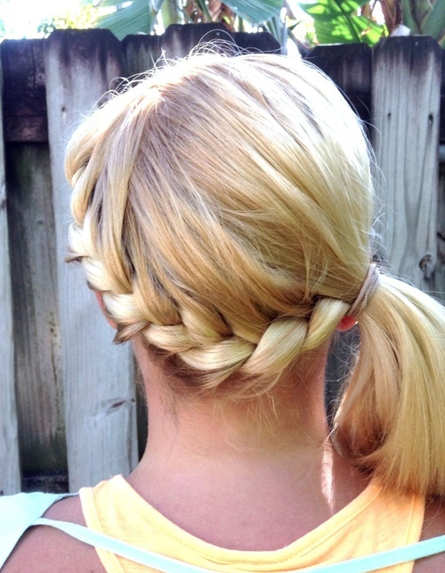 Amazing 25 Best Ideas About Wrap Around Braid On Pinterest Side Braid Short Hairstyles Gunalazisus