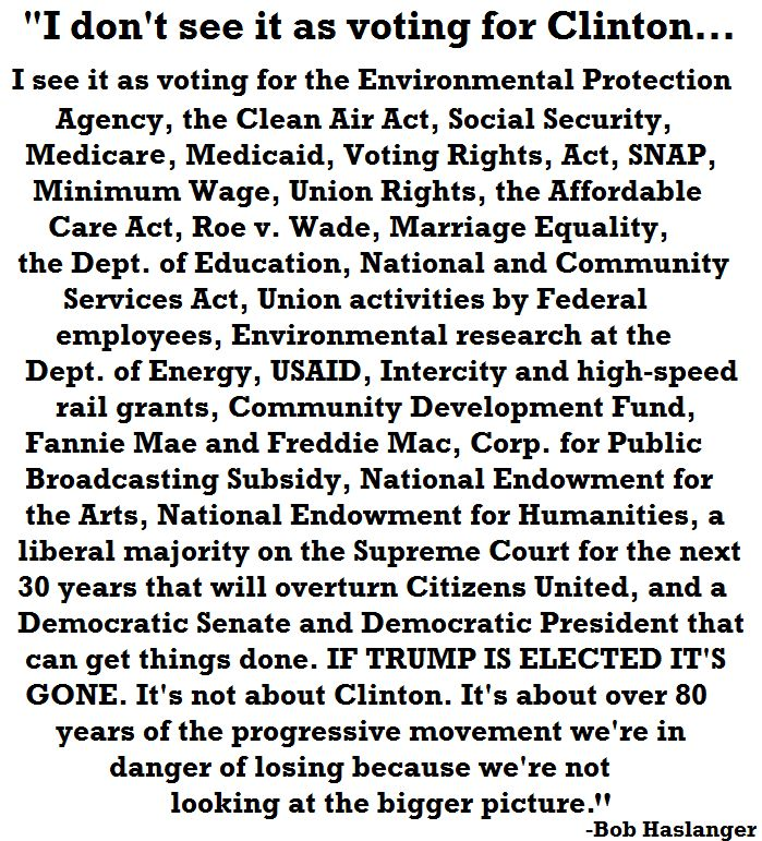 Things we should ALL be voting for!
