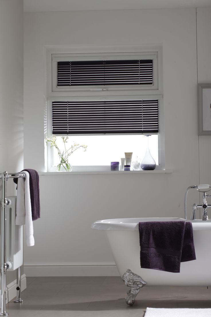 Purple Intu Venetian blinds by Apollo Blinds.