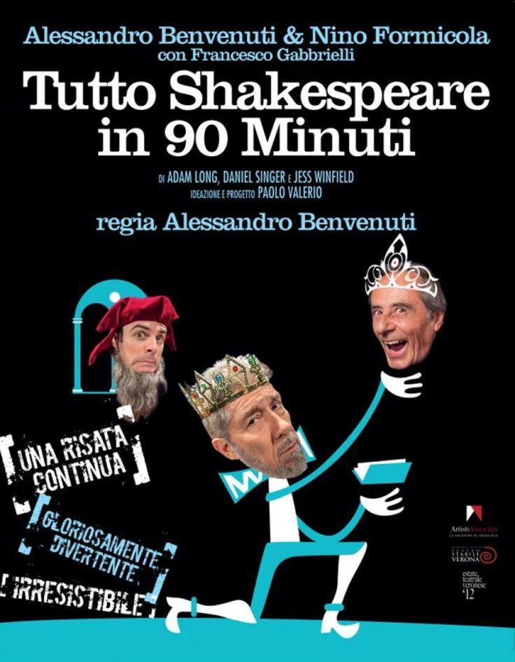 """Norcia a teatro """"Tutto Shakespeare in 90 minuti"""""""