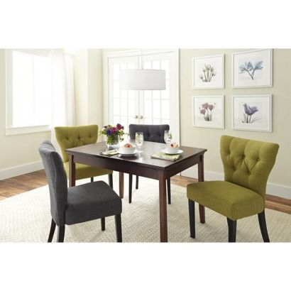 Marlowe Dining Chair   Set of 2. 17 best images about Upholstered Dining Chairs on Pinterest
