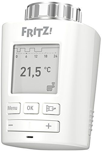AVM FRITZ!DECT 301 (Intelligenter Heizkörperregler für das Heimnetz, für alle gängigen Heizkörperventile und FRITZ!Box mit DECT-Basis, FRITZ!OS ab Version 6.83) #FRITZ!DECT #(Intelligenter #Heizkörperregler #für #Heimnetz, #alle #gängigen #Heizkörperventile #FRITZ!Box #DECT #Basis, #FRITZ!OS #Version