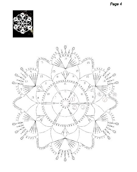 snowflakes crochet 211 schema 3
