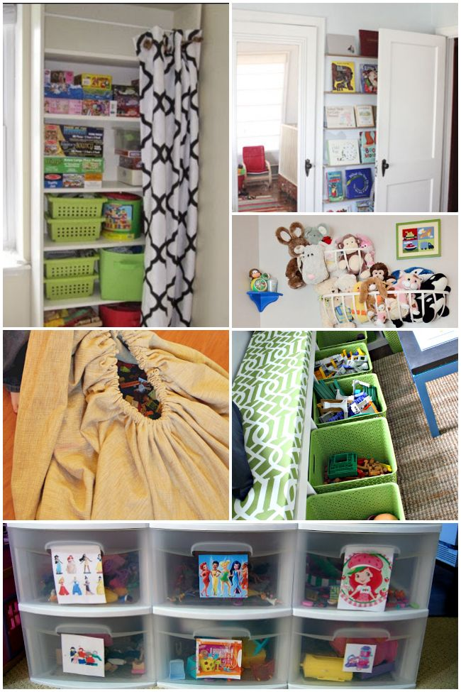 26 Ways to Organize Toys in Small