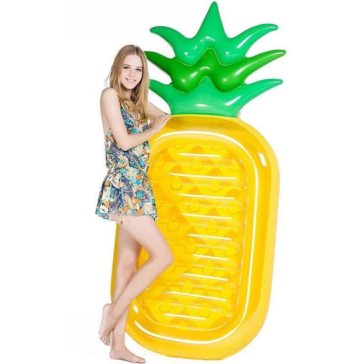 Pineapple Air Mattress Float
