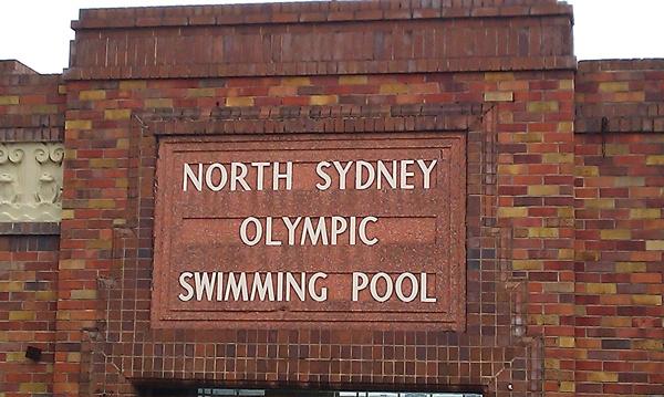 North Sydney Olympic Swimming Pool, North Sydney NSW