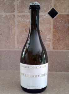 """You can find a lot of fruity wines in Door County, but the relatively new and hard-to-find Island Orchard Cider adds to the mix """"Normandy style sparking hard cider."""" All five varieties are gluten-free, have seven percent alcohol and cost $12 plus tax (except for the Apple Pear Cider, which is $7). See more at: http://www.eatdrinkmadison.com/blog/?p=917"""