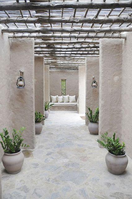 interior courtyard - love!
