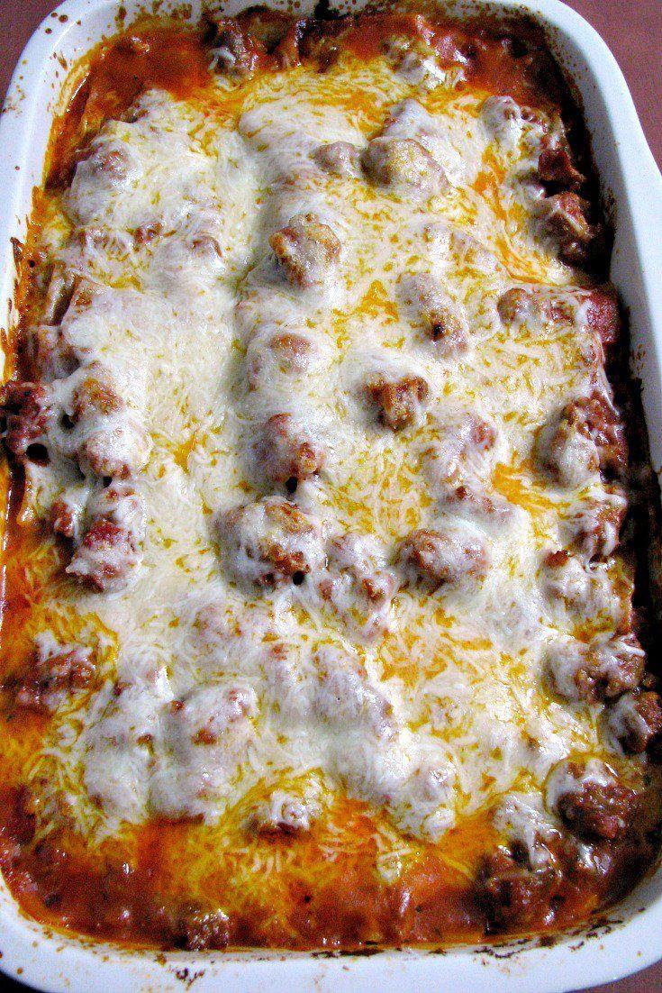 Easy Italian Sausage Lasagna
