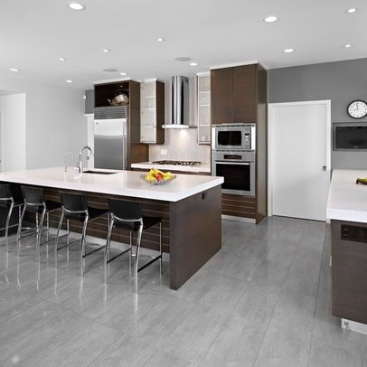 modern home dark gray cabinetry design ideas, pictures
