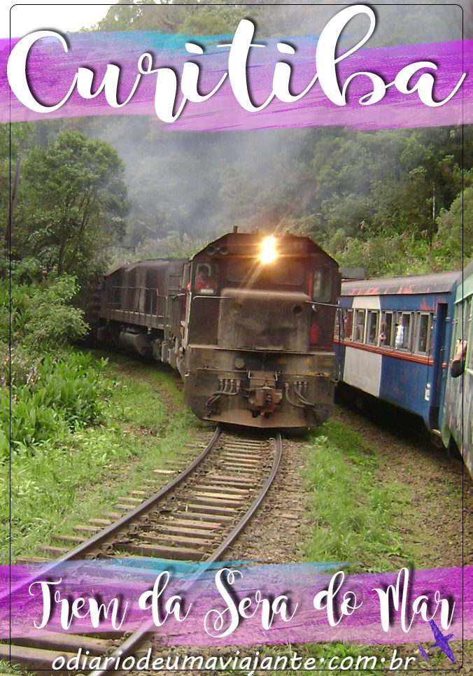 Roteiro dá dicas de Curitiba e do Trem da Serra do Mar que vai até a cidade de Morretes.